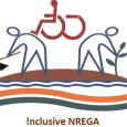 NREGA presents an unprecedented opportunity for disabled persons across India to earn a living and to showcase their talents.  But as things stand, NREGA is not designed for disabled people to participate in it, but we can change it all with some tweaking.